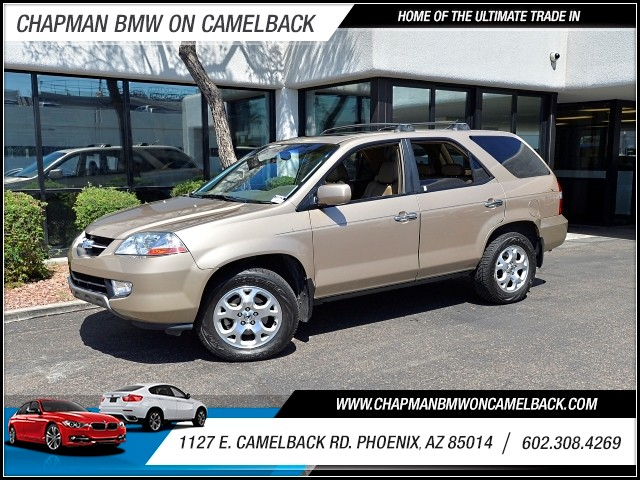 2002 Acura MDX Touring wNavi 91512 miles Cruise control Navigation system DVD Navigation syste