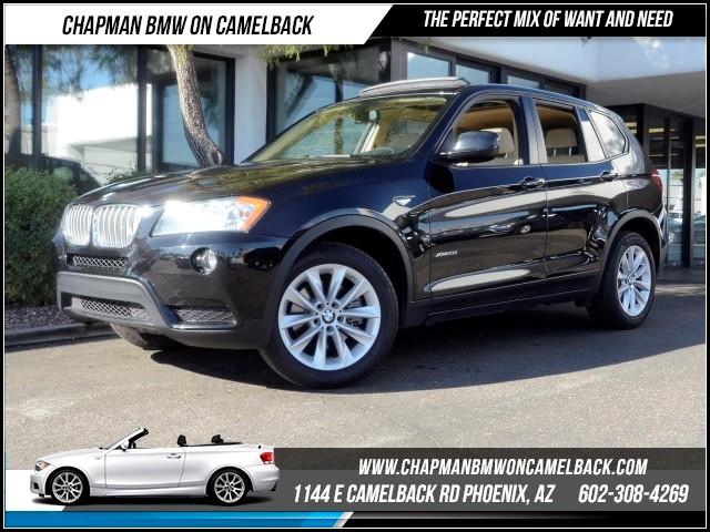 2014 BMW X3 xDrive28i 40171 miles 1144 E Camelback RdChapman BMW on Camelbacks Certified Pre Ow