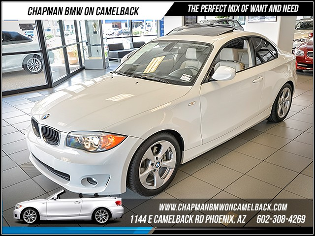 2012 BMW 1-Series 128i 22620 miles Sport Package Convenience Package Premium Package 2 Phone p