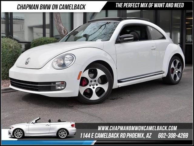 2012 Volkswagen Beetle White Turbo Pzev Cars And Vehicles Phoenix Az Recycler Com