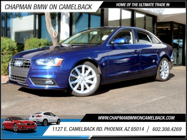 2013 Audi A4 20T Prem Plus 56797 miles 602 385-2286 1127 E Camelback HOME OF THE ULTIMATE T