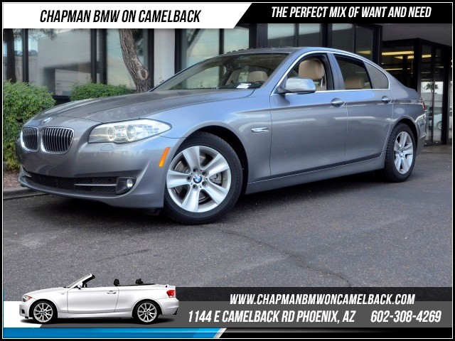 2013 BMW 5-Series 528i Tech Pkg NavHeads up Displ 30311 miles 1144 E Camelback RdChapman BMW o