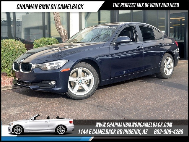 2015 BMW 3-Series Sdn 320i 13457 miles 1144 E Camelback RdChapman BMW on Camelbacks Certified P