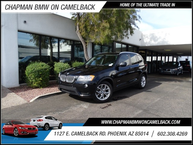 2011 BMW X3 xDrive35i 41435 miles 602 385-2286 1127 E Camelback HOME OF THE ULTIMATE TRADE I