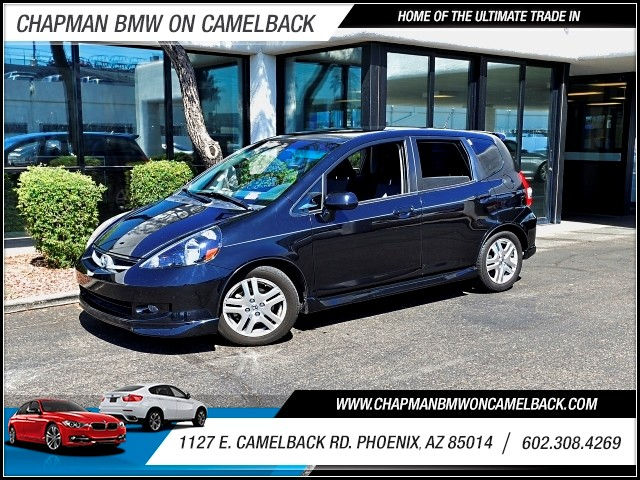 2007 Honda Fit Sport 94384 miles 602 385-2286 1127 E Camelback HOME OF THE ULTIMATE TRADE IN