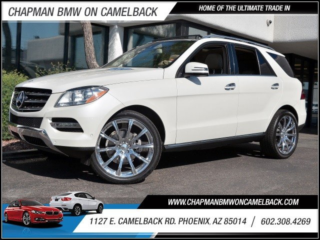 2013 Mercedes M-Class ML350 4MATIC 49571 miles 602 385-2286 1127 E Camelback HOME OF THE ULT