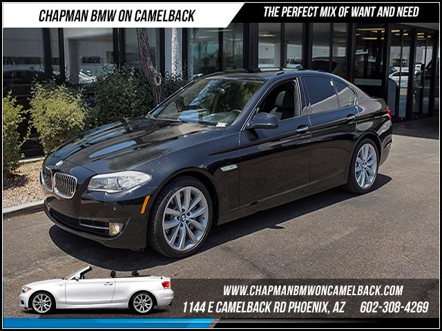 2012 BMW 5-Series 535i PremSportTech Pkg Nav 43644 miles 1144 E Camelback Rd 6023852286C