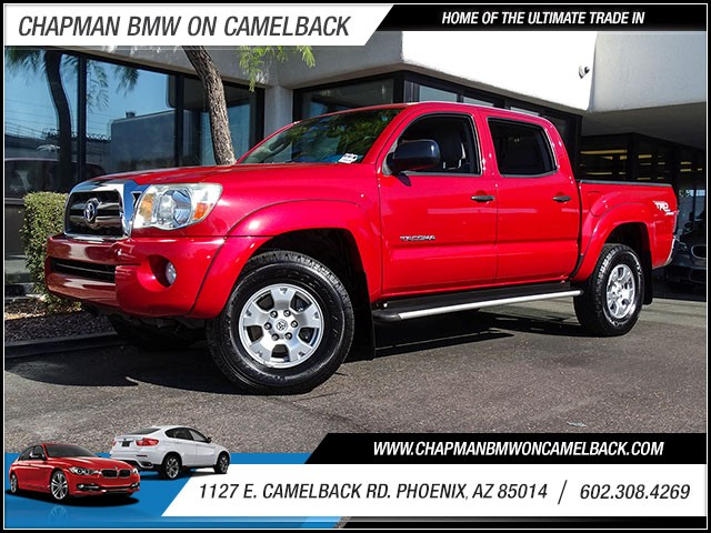 2009 Toyota Tacoma PreRunner Crew Cab 71765 miles 60238522861127 E Camelback Rd Chapman Val