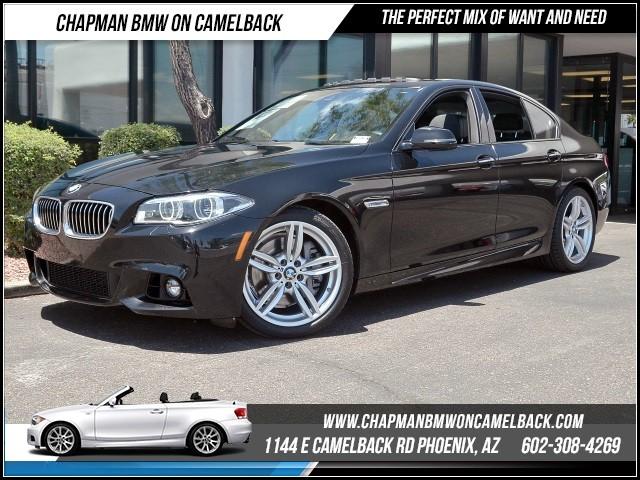 2014 BMW 5-Series 535i Premium Pkg Technology Pkg 18278 miles Premium Package M Sport Package D