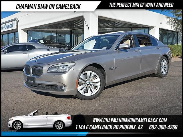 2012 BMW 7-Series 740Li 66083 miles 6023852286 - 12th St and Camelback Chapman BMW on Camelbac