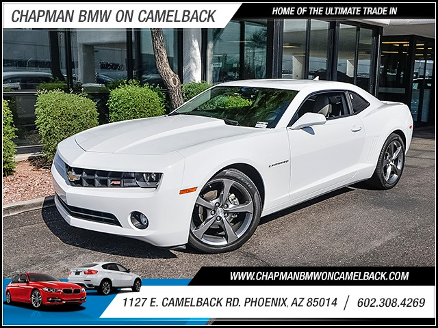 2013 Chevrolet Camaro LT 27454 miles 60238522861127 E Camelback Rd Chapman Value center on