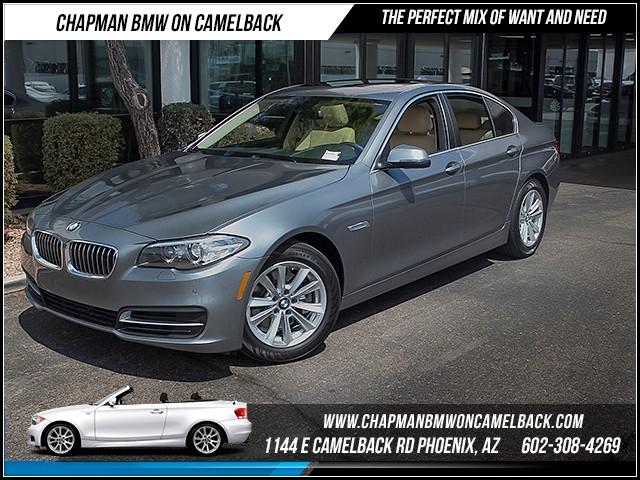 2014 BMW 5-Series 528i Prem Pkg Nav 28540 miles 1144 E Camelback Rd 6023852286Drive for a