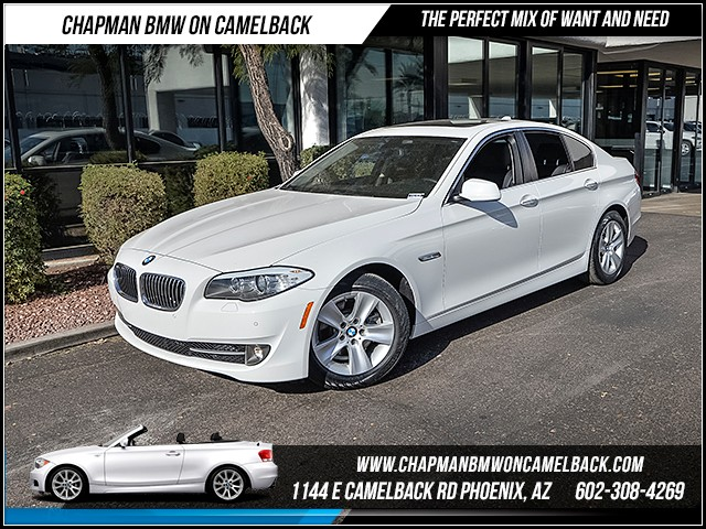 2013 BMW 5-Series 528i 26058 miles Satellite communications BMW Assist Wireless data link Blueto