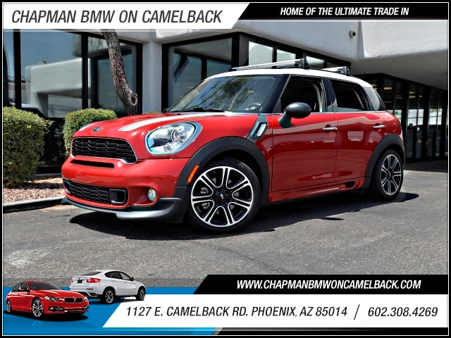 2014 MINI Countryman Cooper S 35287 miles 602 385-2286 1127 E Camelback HOME OF THE ULTIMATE