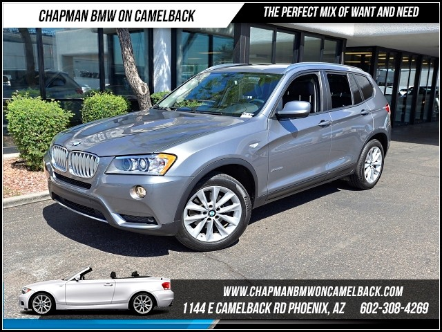 2013 BMW X3 xDrive28i PremTech Pkg Nav 46806 miles 1144 E Camelback Rd 6023852286Why Buy