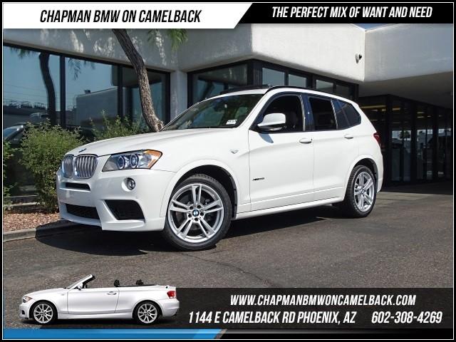 2014 BMW X3 xDrive35i Mspt Prem Tech Nav Dri 18564 miles 1144 E Camelback Rd 6023852286Dri