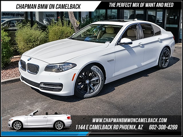 2014 BMW 5-Series 528i 54346 miles 1144 E Camelback Rd 6023852286 Certified Pre Owned Fall
