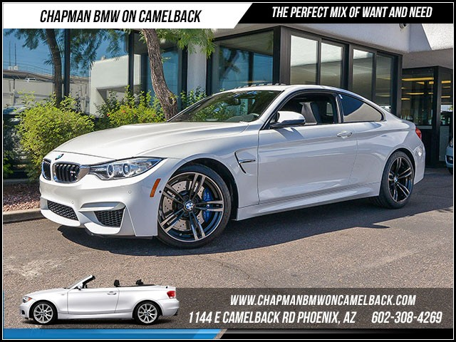 2015 BMW M4 13595 miles Executive Package Driver Assistance Plus Satellite communications BMW A