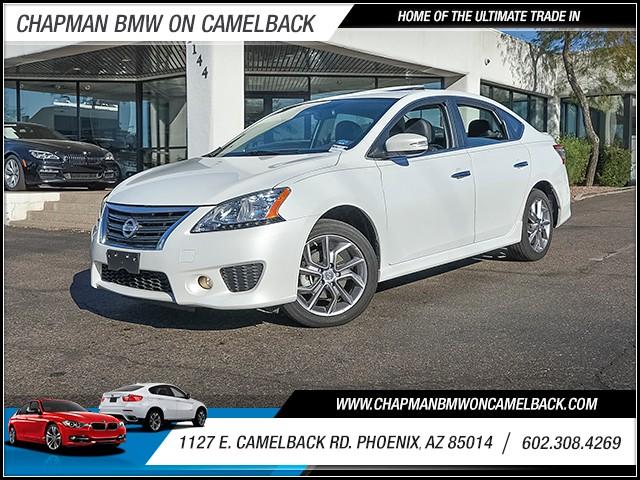 2015 Nissan Sentra SR 12706 miles 6023852286 1127 E Camelback Rd Chapman Value center on Cam
