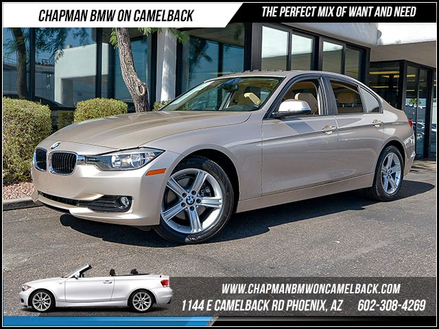 2015 BMW 3-Series Sdn 320i 15158 miles Moonroof Heated front seats Satellite communications BMW