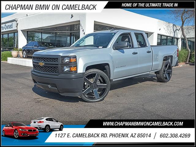 2015 Chevrolet Silverado 1500 LS Extended Cab 22721 miles 6023852286 1127 E Camelback Rd Cha