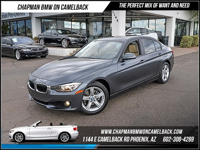 2015 BMW 3-Series 320i 11790 miles Satellite communications BMW Assist Wireless data link Blueto