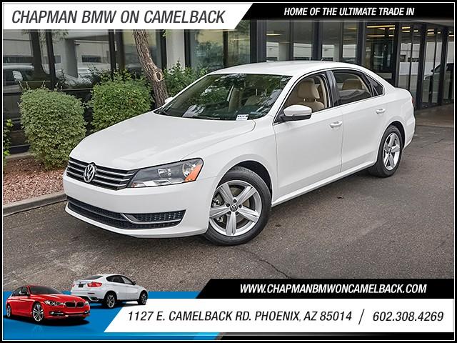 2015 Volkswagen Passat Sport PZEV 16512 miles 6023852286 1127 E Camelback Rd Chapman Value