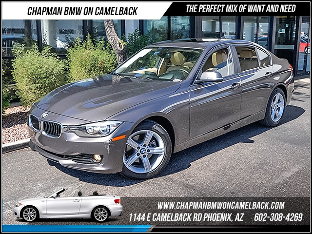 2013 BMW 3-Series Sdn 328i 22952 miles Premium Package Technology Package Satellite communicati