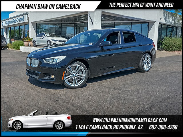 2013 BMW 5-Series 550i Gran Turismo 46574 miles 6023852286 - 12th St and Camelback Chapman BMW