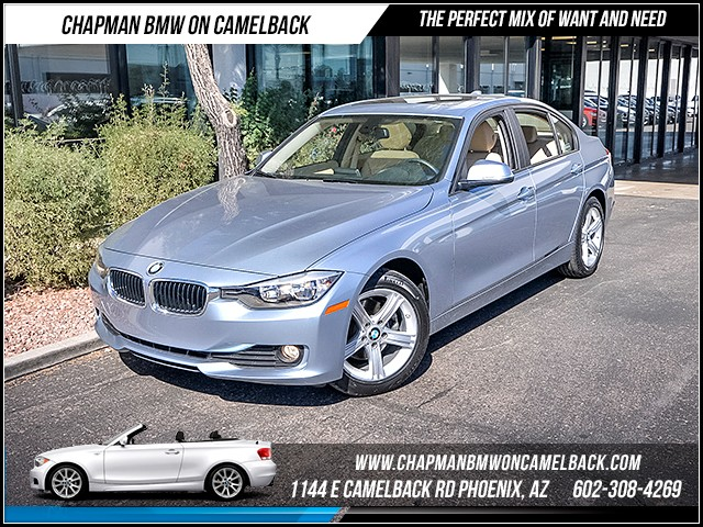 2014 BMW 3-Series Sdn 320i 19316 miles Premium Package Satellite communications BMW Assist Wire