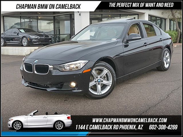 2014 BMW 3-Series Sdn 328i Prem Driver Assist 34800 miles Premium Package Driving Assistance Pac