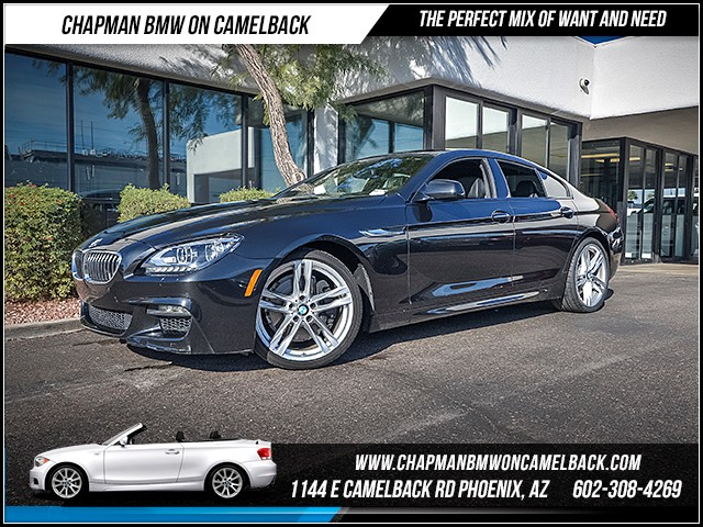 2015 BMW 6-Series 640i Gran Coupe Mspt Exec Nav 26460 miles M Sport Edition Executive Package L