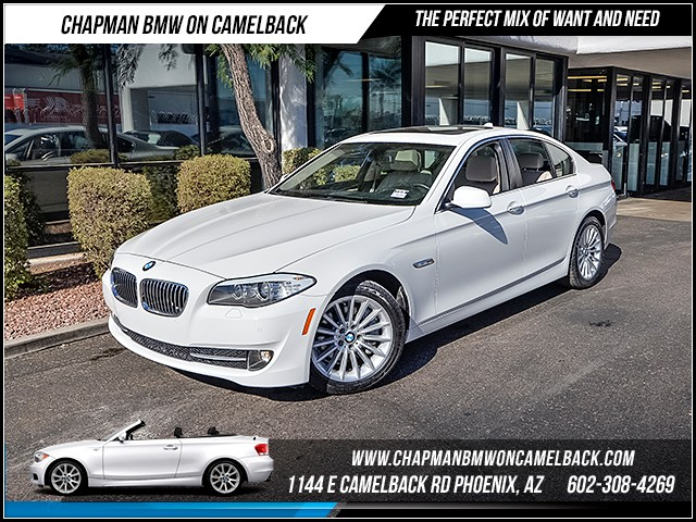 2013 BMW 5-Series 535i 18593 miles Heated front seats Rear view camera Xenon headlights Satell
