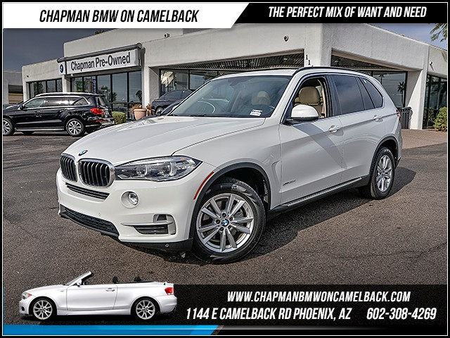 2015 BMW X5 xDrive35d 19607 miles Premium Package Driving Assistant Package Real time traffic