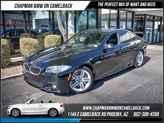 2015 BMW 5-Series 535i 34778 miles M Sport Package Premium Package Driver Assistance Package D