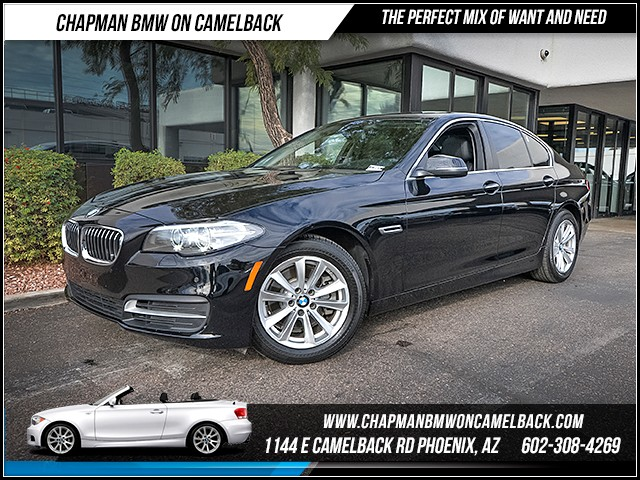 2014 BMW 5-Series 528i 37341 miles Rear view camera Real time traffic Wireless data link Blueto
