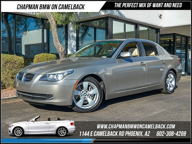 2008 BMW 5-Series 528i 83331 miles Premium Package Wireless data link Bluetooth Phone hands fre