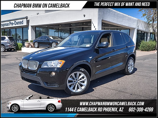 2014 BMW X3 xDrive28i 35752 miles 6023852286 - 12th St and Camelback Chapman BMW on Camelback