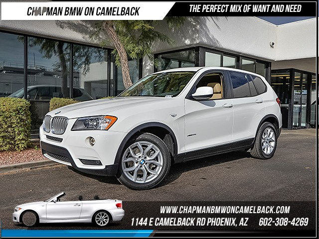 2014 BMW X3 xDrive35i 11240 miles Certified Black Friday Sales Event Exclusively at 1144 E Camel