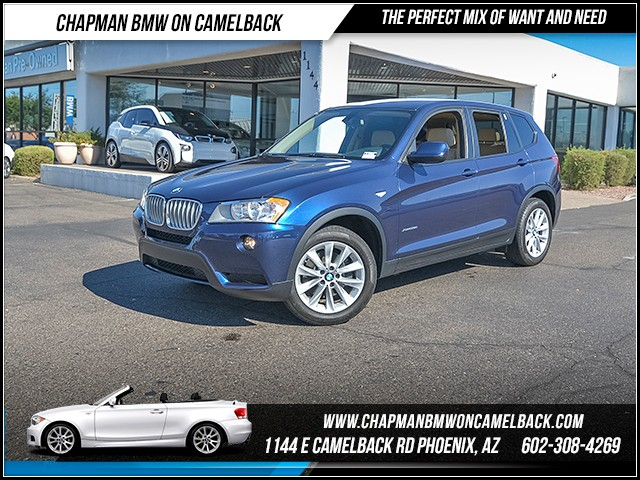 2014 BMW X3 xDrive28i 17646 miles 6023852286 - 12th St and Camelback Chapman BMW on Camelback