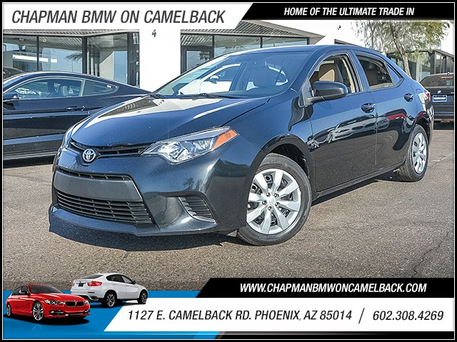 2014 Toyota Corolla LE Plus 49462 miles 6023852286 1127 E Camelback Rd Chapman Value center