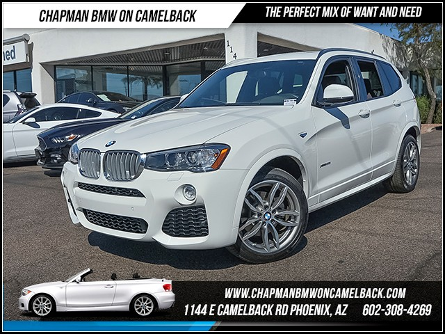 2016 BMW X3 xDrive35i 8794 miles Premium Package Technology Package M Sport Package Cold Weath