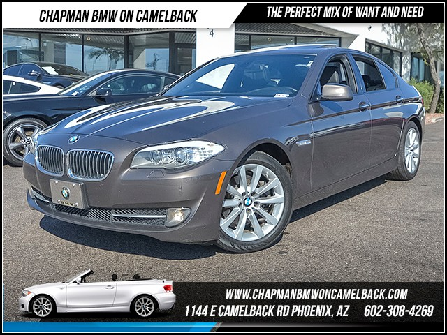 2012 BMW 5-Series 528i 76338 miles Premium Package Sport Package Technology Package Wireless d