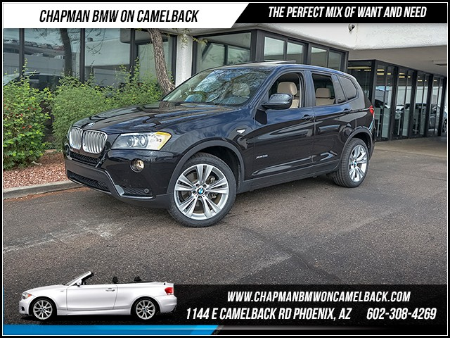 2014 BMW X3 xDrive35i 25929 miles Driving Assistance Package Premium Package Wireless data link