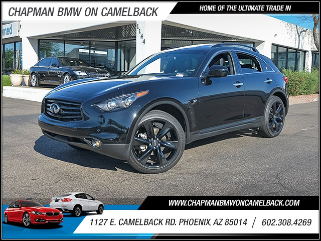 2015 INFINITI QX70 16451 miles 6023852286 1127 E Camelback Rd Chapman Value center on Camelb