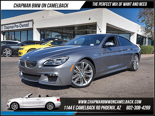 2016 BMW 6-Series  640i Gran Coupe 9314 miles M Sport Edition Cold Weather Package Executive Pa