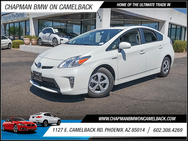 2014 Toyota Prius Three 49835 miles Wireless data link Bluetooth Real time traffic Cruise contr
