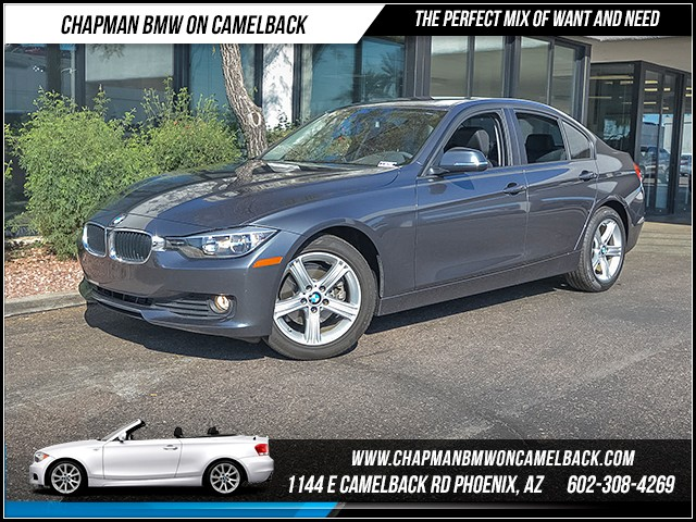 2014 BMW 3-Series Sdn 320i 33608 miles 6023852286 - 12th St and Camelback Chapman BMW on Camel