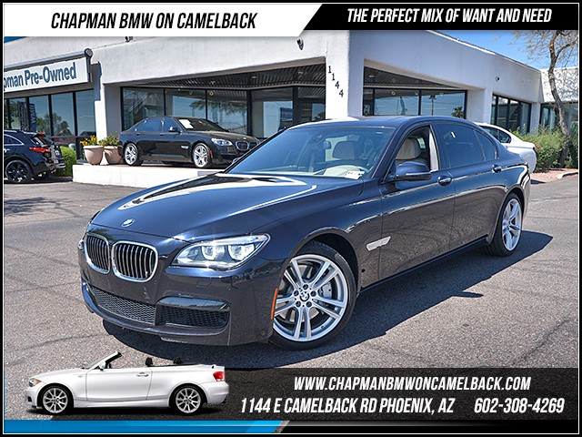 2014 BMW 7-Series 750Li MsptExecDriver Assist Pl 37756 miles 6023852286 - 12th St and Camelba
