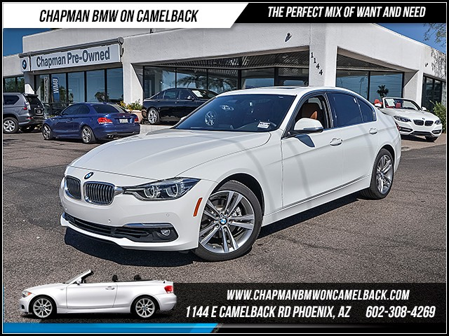 2016 BMW 3-Series Sdn 328i 4194 miles Luxury Line Driving Assistance Package Premium Package H